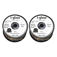 Taulman 3D T-Glase Polyester Resin Filament 1.75mm 2 Spool Bundle, 1lb each