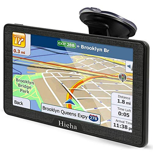 Hieha 7 Inches Navigation System for Car Truck RV Vehicles