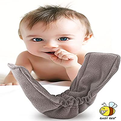 Diaper Inserts with Gusset (Pack of 10)★charcoal Bamboo Reusable Liners for Cloth Diapers ★ Works Best with Cute Babies