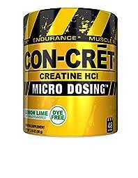 CON_CRET Creatine HCL, Lemon Lime, 48 Servings