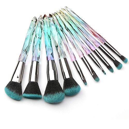 0e8314969f910 10 Pcs Makeup Brush Set - Buyitmarketplace.com