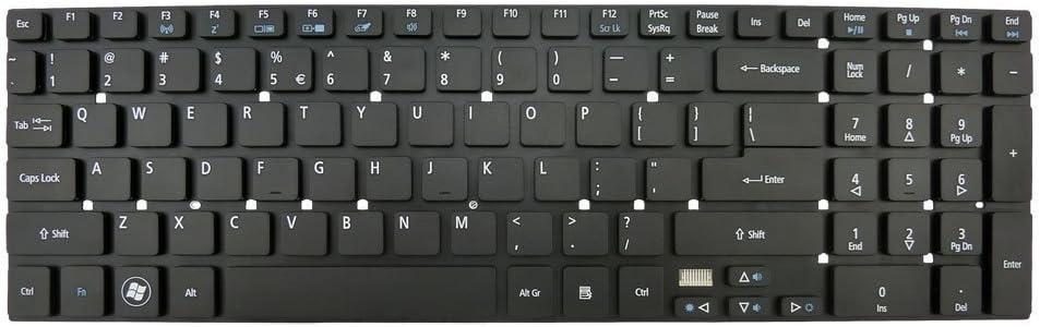 V121702AS2 New Genuine Acer Aspire V3-551G V3-571G V3-731G V3-772G Laptop US Keyboard Black