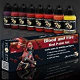 Blood and Fire Red Paint set by SCALE 75