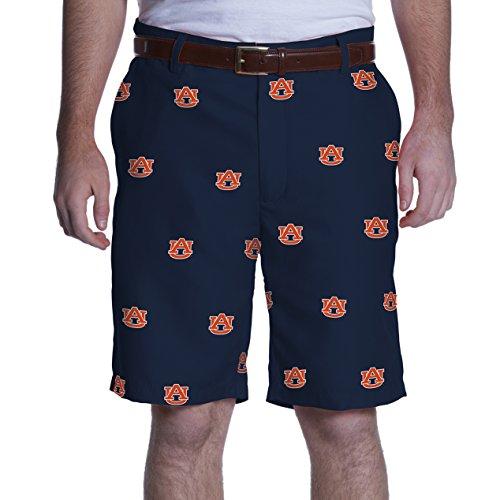 NCAA Adult Men's Game Changer Shorts, Auburn Tigers, 36, Blue
