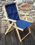 Highlands Deck Beach Chair Finish: Navy Blue