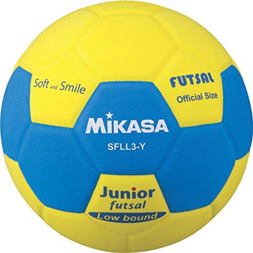 미카사 (MIKASA) 스마일 풋살 3 호 SFLL3 Y 옐로우 3 호 공