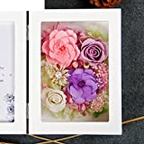 The imports rose Immortal flower photo frame Fresh rose Creative ornaments Mother's day-K
