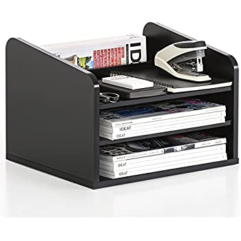 Amazon Com Victor Wood Midnight Black Collection Tidy