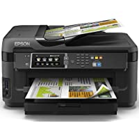 Epson Workforce WF-7610DWF Imprimante Couleur 4en1 A3+ recto verso 18 ppm Wi-Fi Noir