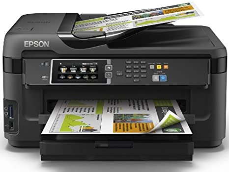 Epson Workforce WF-7610DWF - Impresora multifunción de Tinta (WiFi, WiFi Direct y Ethernet, Color 10 PPM, USB), Color Negro, Ya Disponible en Amazon ...