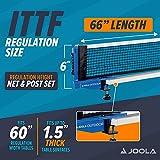 JOOLA Outdoor Weatherproof Table Tennis Net and