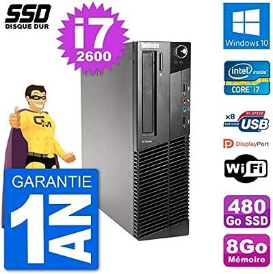 Lenovo PC M91p SFF Intel i7-2600 RAM 8 GB SSD 480 GB Windows 10 ...