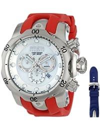 Invicta Men's 13912 Venom Analog Display Swiss Quartz Red Watch