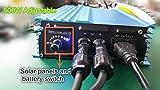 500W Pure sine wave Grid tie inverter forr solar panels Voc-Input:26V-45V vmp 24v-35v or for 24V batterty output power adjustable home solar system (500W-ADJ-DC:26V-45V)