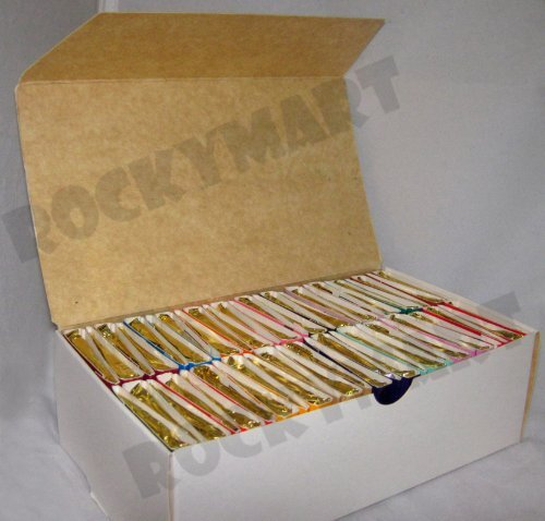 - *Box of 50* Books of Incense Matches - 16 Fragrances - Assorted - Scent Match