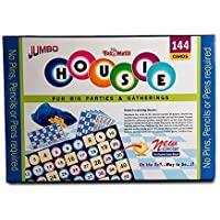 Toymate HOUSIE Jumbo Board Game -144 Cards Bingo/Lotto/ Tambola Family Game.