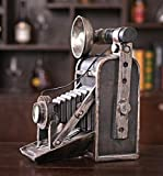 GL&G Retro camera Creative Decorations Decoration Window bar Cafe Shooting props Crafts Tabletop Scenes Keepsakes Ornaments Collectible Figurines,19.516.325.6cm