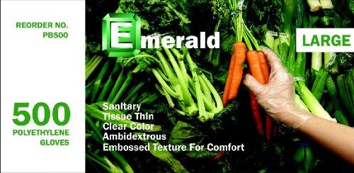 Emerald PB500 Polyethylene Gloves