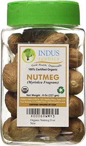 Indus Organic Nutmeg Whole Jumbo product image