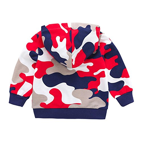 HCFKJ Infant Toddler Baby Girls Boys Camuflaje Tops De ImpresióN Ropa  Casual Abrigo Barato 408fee5f5ee