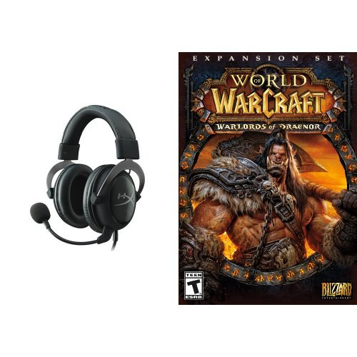 World of Warcraft: Warlords of Draenor Expansion - PC/Mac [Digital Code] and Headset Bundle