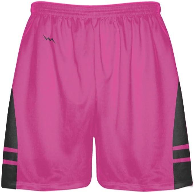 LightningWear Youth Powder Blue to Black Fade Basketball Shorts Blue Cool Basketball Shorts