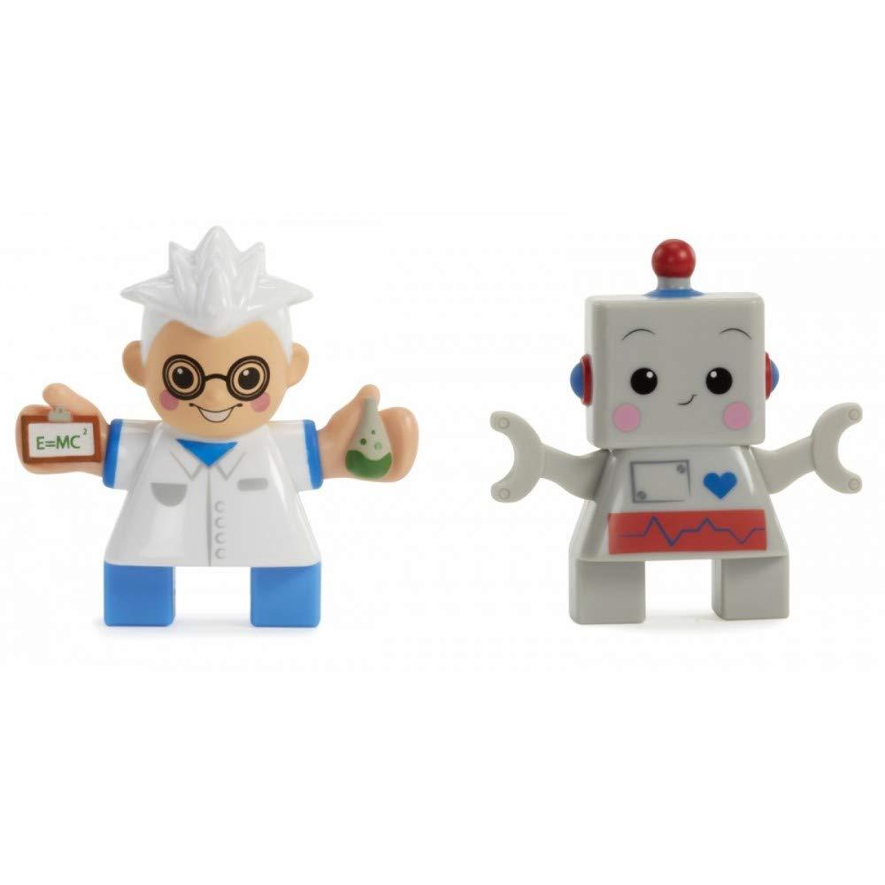 Scientist// Robot Waffle Blocks Double Figure Pack