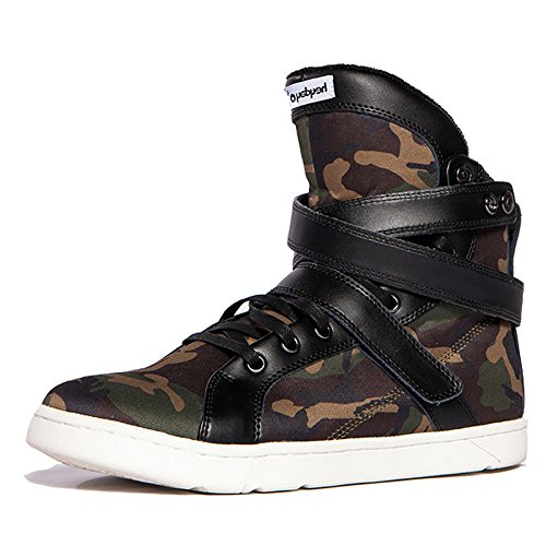Heyday Footwear Men's Super Shift Camouflage Fabric High Top Bodybuilding Sneaker - 12 D(M) US