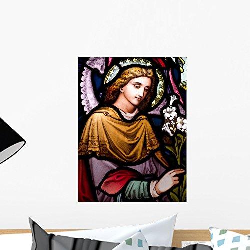Wallmonkeys Archangel Gabriel Wall Mural Peel and Stick Graphic (18 in H x 14 in W) -