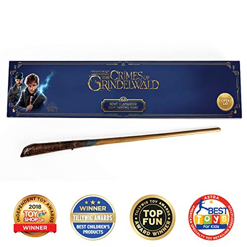 (WOW! Stuff Collection Fantastic Beasts – Newt's Light Painting Wand – Award)