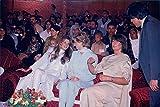Vintage photo of Princess Diana visiting Jemima and Imran Khan
