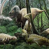Brewster Nat Geo Kids NG94615 Pre-pasted Wall Mural Dinosaurs, 72-Inch Width x 45-Inch Height