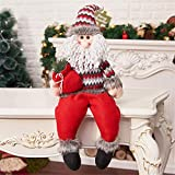 greatown Christmas Santa Claus Snowman Elk Doll Toys Christmas Tree Hanging Ornament Decoration New Year Gifts