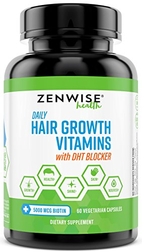 Daily Hair Growth Vitamins with DHT Blocker