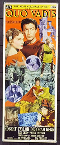 Quo Vadis! (1951) Original Movie Poster