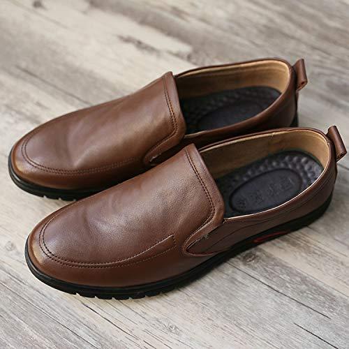 Marron LOVDRAM Chaussures De Sport pour Hommes Chaussures De Sport pour Hommes Chaussures De Sport pour Hommes Chaussures De Sport pour Hommes en Cuir Ensemble De Chaussures à Pois pour Hommes