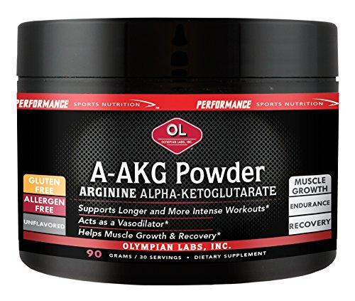 Olympian Labs A-AKG Powder, 30 Servings (Pack of 2) Aakg Powder