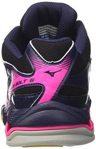 Mizuno Voleibol Mujer Bolt Wave Multicolor De Zapatos blackwhitepeatcoat Wos Para P7gwqP