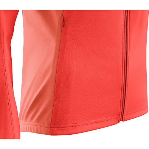 GORE Wear Women's Windproof Cycling Jacket, Removable Sleeves, GORE Wear C3 Women's GORE Wear WINDSTOPPER Phantom Zip-Off Jacket, Size: L, Color: Lumi Orange/Coral Glow, 100191 by GORE WEAR (Image #7)