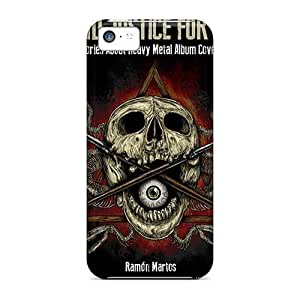 Hard Protect Phone Case For Apple Iphone 5c (sAZ2663laWX) Customized Lifelike Three Days Grace Pictures