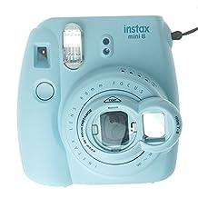 FoRapid Instax Mini Selfie Lens Close Up Lens with Self-portrait Mirror for Fujifilm Instax Mini 8 mini 7s & Polaroid 300 Instant Film Cameras (Light Blue)