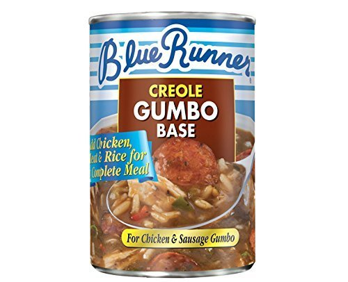 Blue Runner Creole Chicken & Sausage Gumbo Base (3-pack) by Blue ()