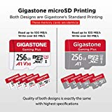 Gigastone 256GB Micro SD Card, Gaming