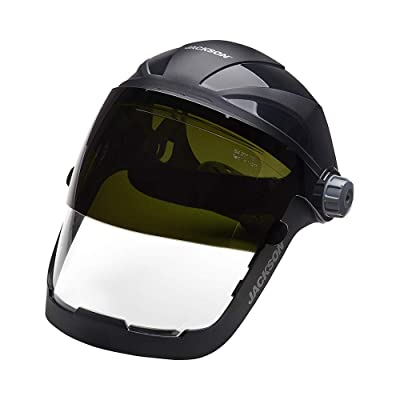 Clear Welding Face Shield Tinted Grinding Helmet Adults Dentist Splash Protect