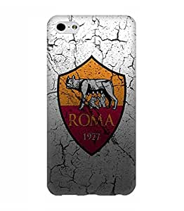 Iphone 6 Plus ,6s Plus Funda Case Cover 3D Cover Roma Football Club Logo Protective Print Image Hard Back swag Design for Man