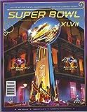 Super Bowl XLVII 47 Baltimore Ravens vs San Francisco 49ers NFL Football Official Game Program