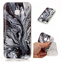 Galaxy A5 2017 case Marble,YiLin Marble Series Anti-Scratch &Fingerprint Shock Proof Thin TPU Case for Samsung Galaxy A5 2017 ,Tree pattern