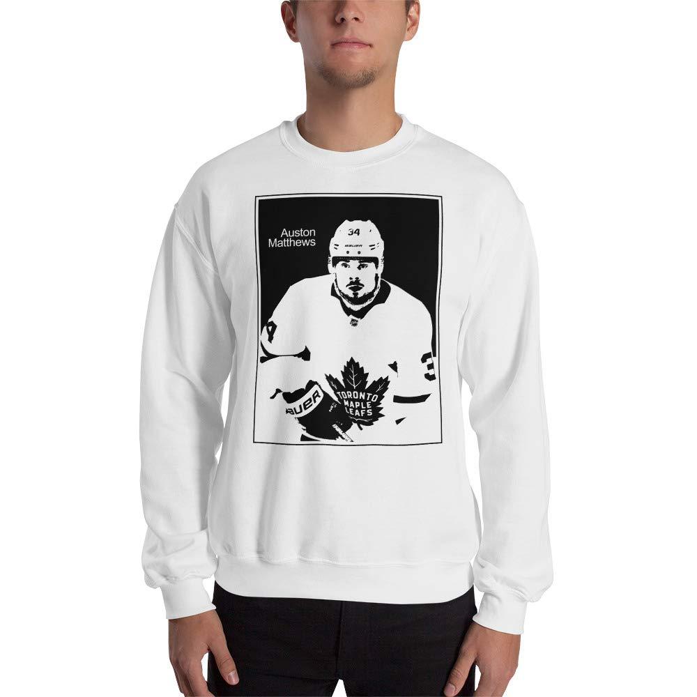 Fashion Sweatshirt Auston Matthews Sweatshirt ice Hockey Legend Front Style