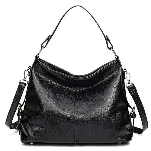 Sac à bandoulière Tongling Mxl dans le sac fourre-tout, le gland grande capacité et les sacs noirs pour femmes en cuir souple