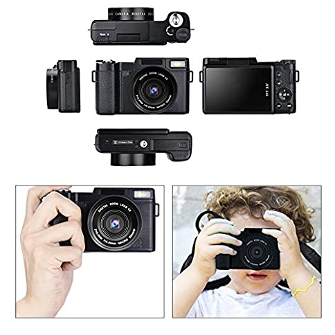 - 51hPfooVF5L - Camcorder Full HD 1080p 30fps 24.0MP Digital Camera Macro Focusing 3 Inch Touch Screen 16x Digital Zoom Video Camera HDMI Output Vlogging Camera for YouTube with Remote Control (7M)